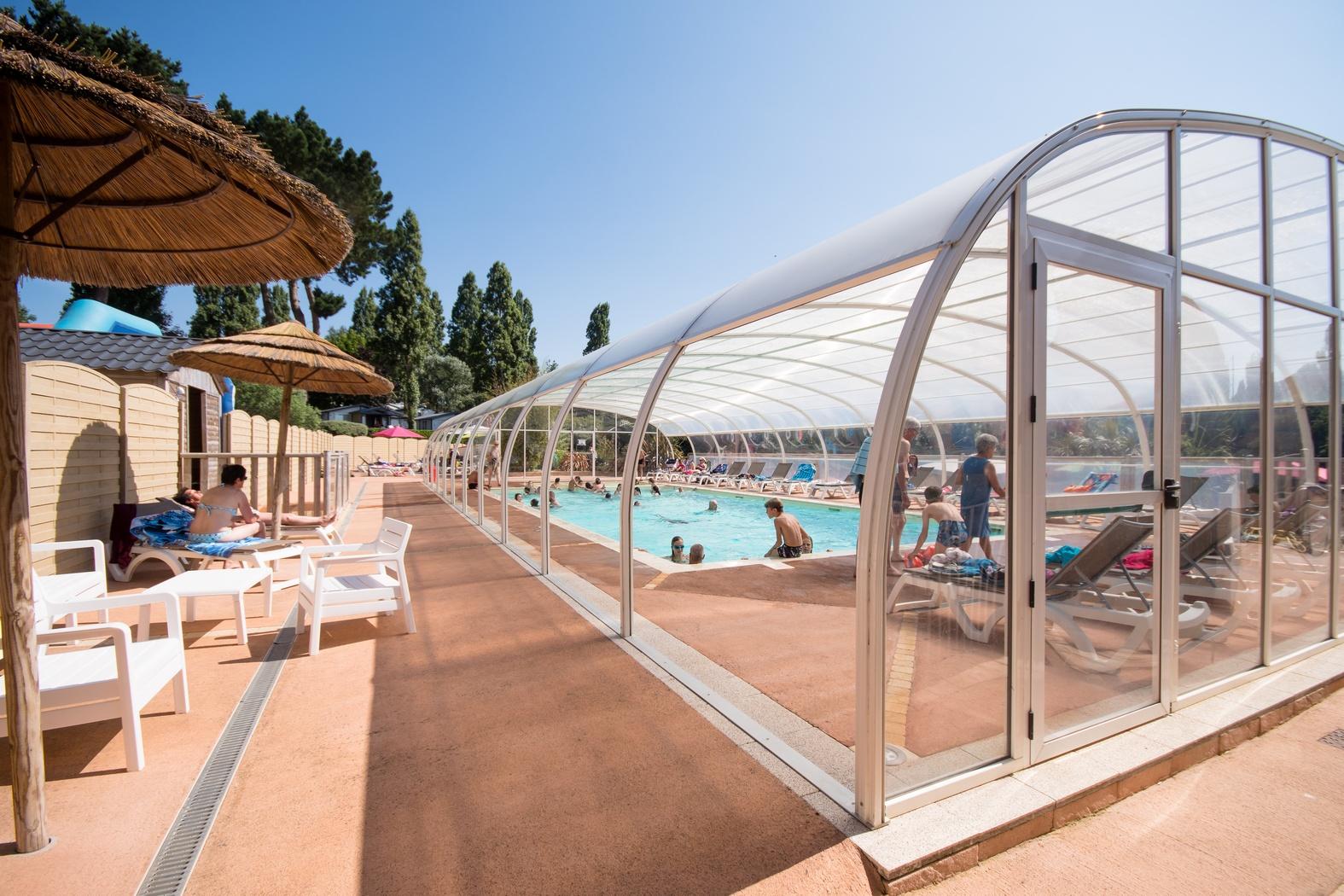 Camping bretagne avec piscine couverte chauff e camping - Camping roscoff avec piscine couverte ...